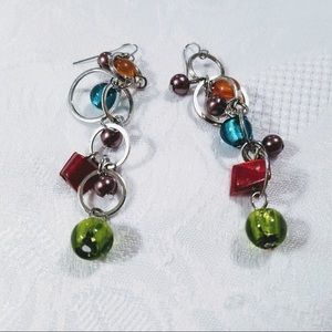 Playful Vintage Earrings